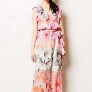 Anthropologie HD in Paris Easel Flora Maxi Dress